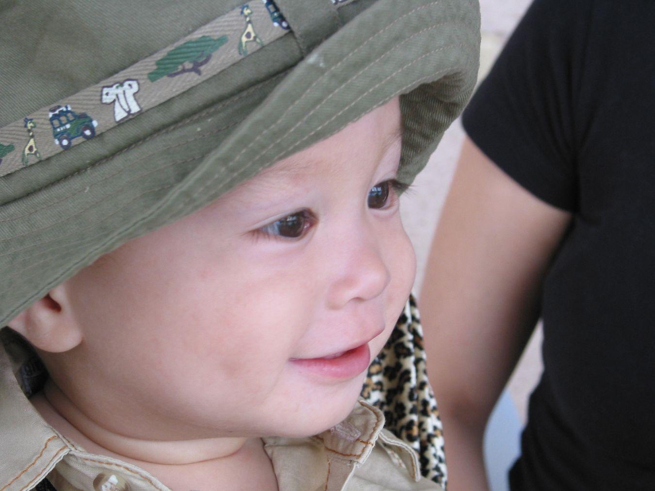 Elijah as a 1 year old